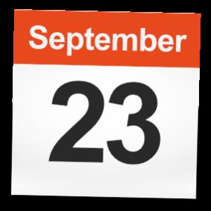 September 23rd